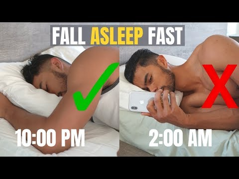 How to Fall Asleep FAST When You Cant Fall Asleep