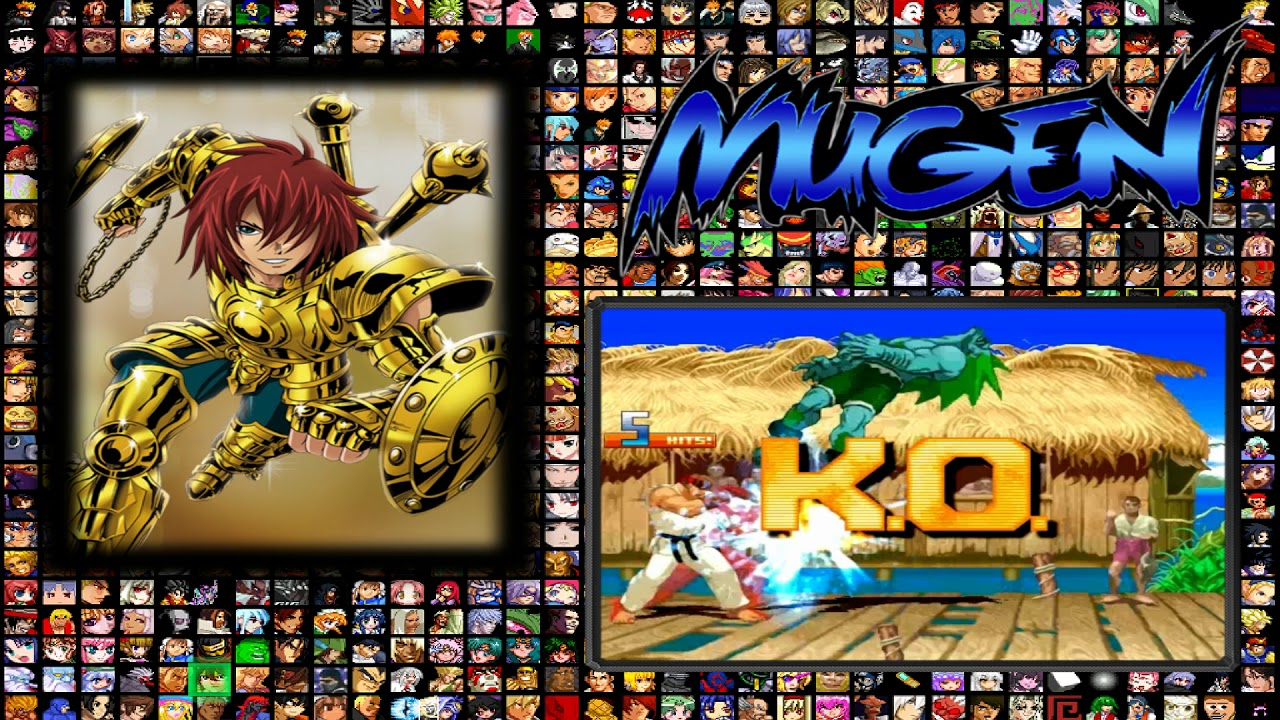 HYPERSPIN/LAUNCHBOX - MUGEN Theme Unifield Converted 1080p