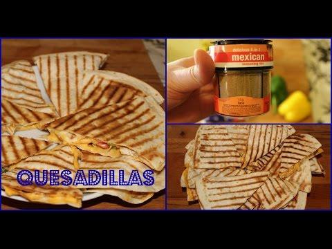 recette-des-quesadillas-au-poulet-/-chiken-quesadillas-recipe