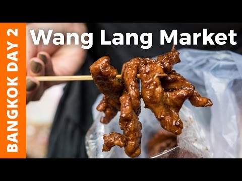 Grand Palace Bangkok & Thai Feast at Wang Lang Market (ตลาดวังหลัง) - Bangkok Day 2