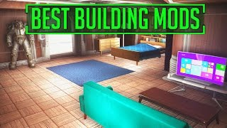 Fallout 4 - THE BEST SETTLEMENT BUILDING CONSOLE MODS