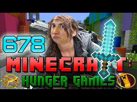 """DIAMOND SWORD OWNAGE"" Minecraft: Hunger Games w/Bajan Canadian! Game 678"