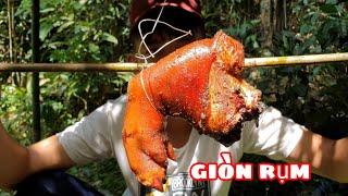 Giò Heo Xông Khói | Bữa Ăn Ngon Trong Rừng
