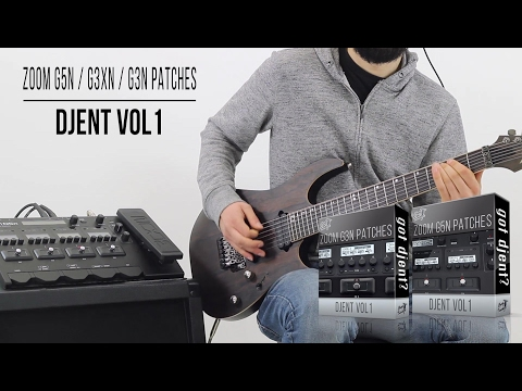 Zoom G5n / G3Xn / G3n Patches | Djent vol1 | Playthrough