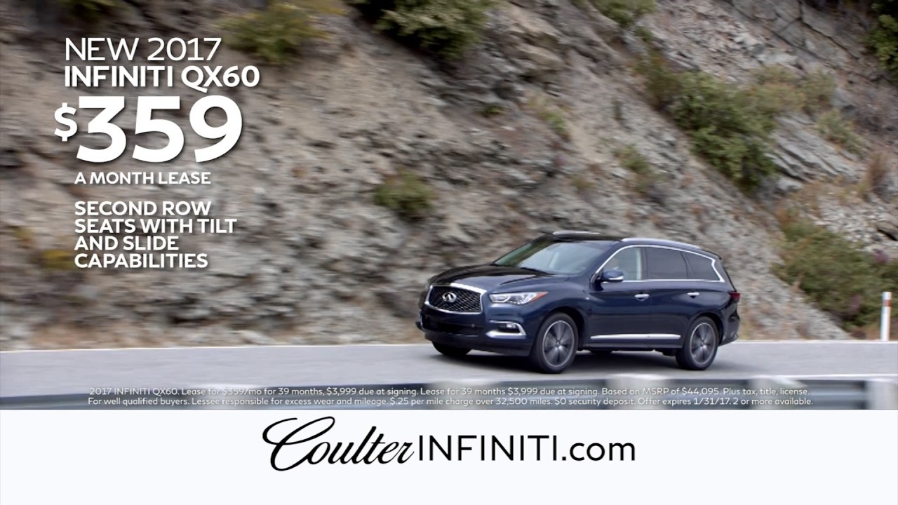 January 2017 Infiniti Qx60 Lease Offers