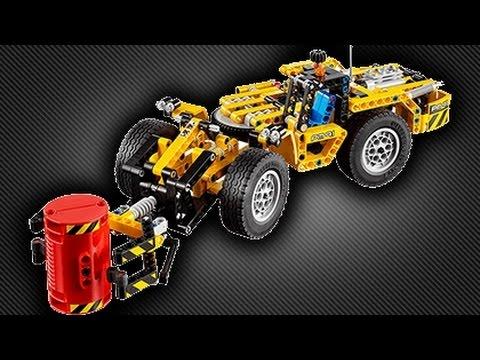 2016 lego technic 42049 mine loader replica youtube. Black Bedroom Furniture Sets. Home Design Ideas