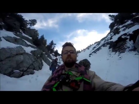 Frost Bite FPV Wrightwood Land Slide