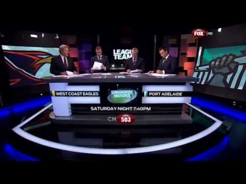 League Teams - West Coast vs Port Adelaide