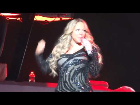 Mariah Carey - Don't Forget About Us Live All Phones Arena Sydney Australia Jan 2013