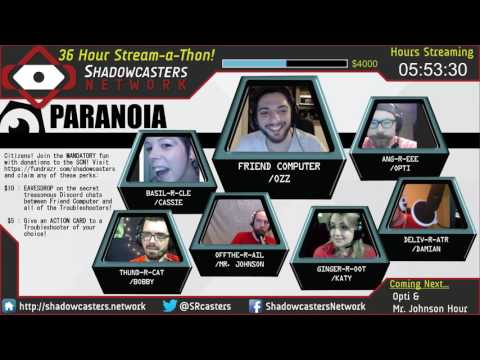 Paranoia One Shot - Shadowcasters Network