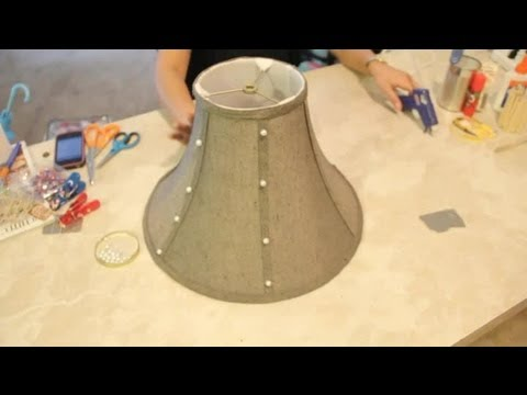 Lampshade Decorating Crafts Easy Crafts