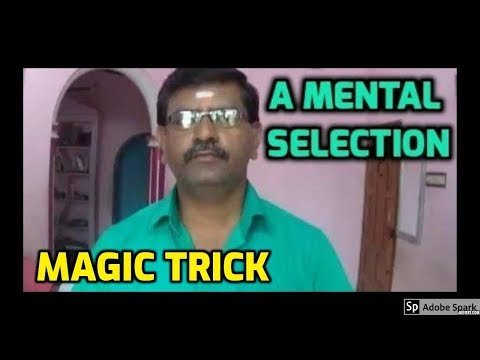 MAGIC TRICKS VIDEOS IN TAMIL #439 I A MENTAL SELECTION @Magic Vijay