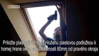 Zaluzie Web - Montáž žalúzie V-LITE pre strešné okná