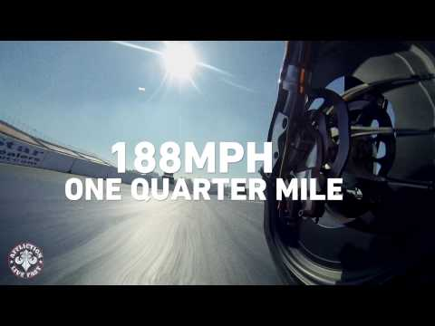 Affliction Clothing - 188mph with moto drag racer Matt Smith