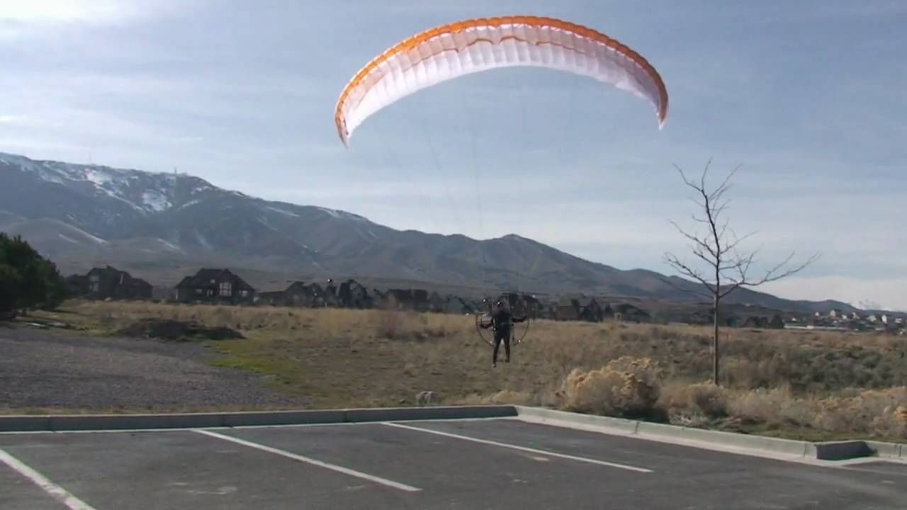 Paramotor Take Off Simonini Evo 33hp World's Best Powered Paragliding  Equipment
