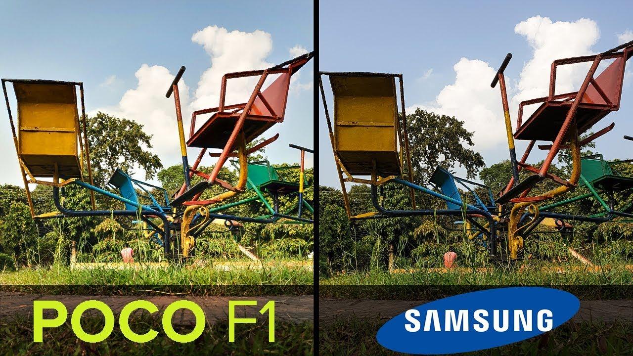 Poco F1 Vs Galaxy Note 9 Camera Comparison 4k Mobile