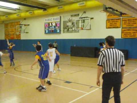 Ramaz Middle School Boys Basket Ball vs St. Ignasius
