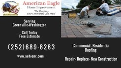 Roofing Contractors Washington NC | FREE ESTIMATE | (252)689-8283 | American Eagle Roofing