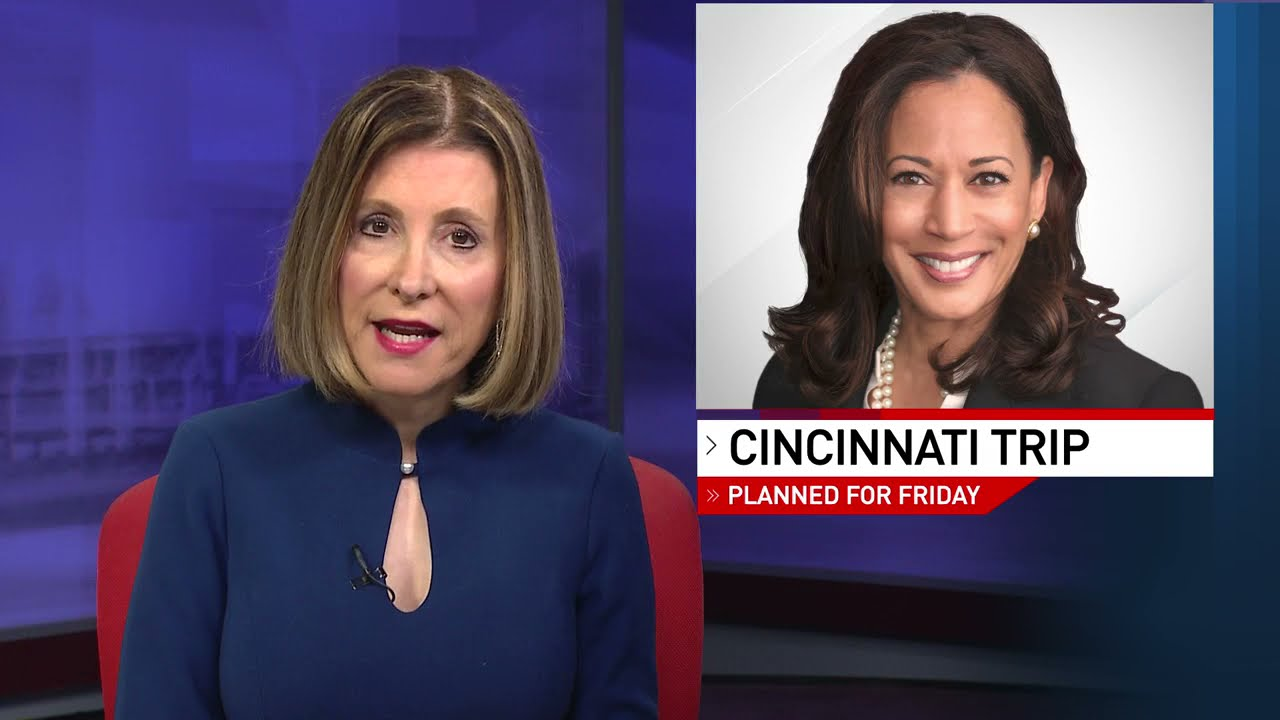Vice President Kamala Harris in Cincinnati: What we know about ...