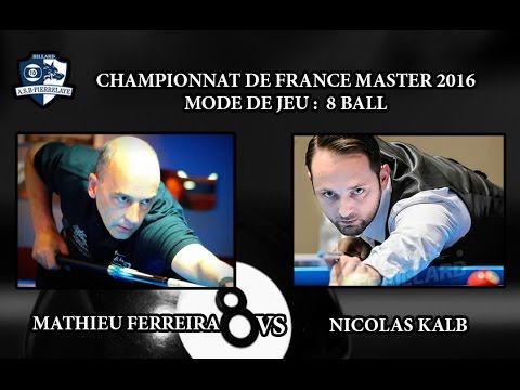 CFM 2016 - Day 2 - 8 ball -  Vincent Facquet vs Nicolas Rimbot