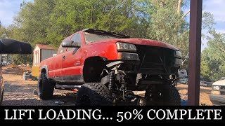 DURAMAX GETS MASSIVE LIFT!! Solid Axle Swap Wrap up!!!