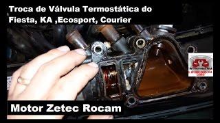 Troca de Válvula Termostática do Fiesta, KA ,Ecosport  Motor Zetec Rocam   DR Auto Mecânica thumbnail