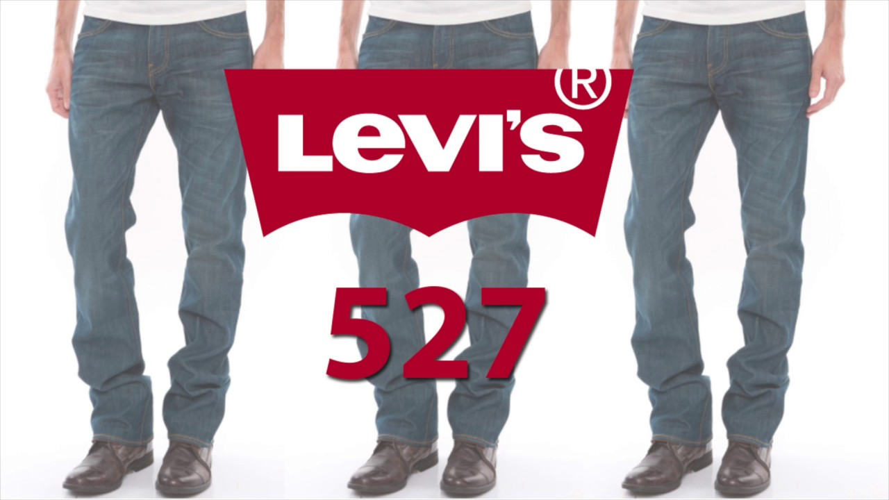0d472226 Levi's Fits Explained - 527 Slim Bootcut - YouTube