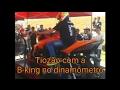 Tiozão Kle621 no dinamômetro com sua B-king