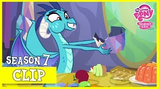 Thorax and Ember in Twilight's Castle (Triple Threat) | MLP: FiM [HD]