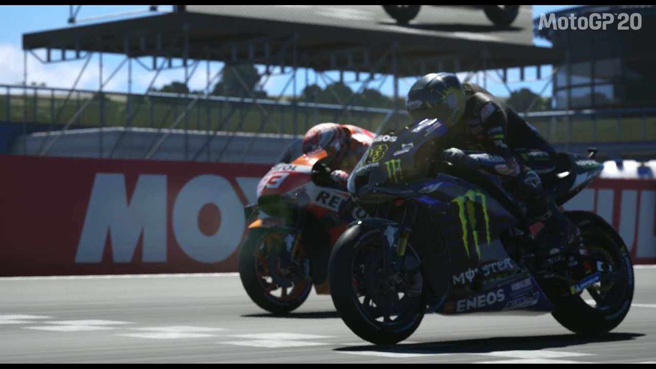 MotoGP 2020 Game   Assen TT    Marquez VS Naiem   Photo Finish!!!!