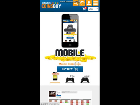 """MaddenCoinsBuy.Com Mobile Limited Limited Time 15% Discount - Coupon Code """"MCB"""""""