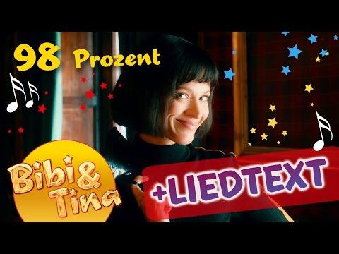 98 Prozent - Musikvideo aus Bibi & Tina VOLL VERHEXT mit Liedtext / Lyrics