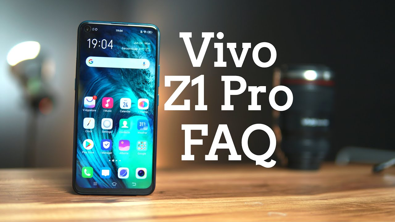 Vivo Z1 Pro FAQ - Display, SAR Value, Slow motion videos, USB OTG, LED  Notification Light