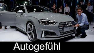 New A5: Audi S5 Coupé vs S5 Sportback comparison review Exterior/Interior special
