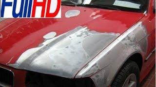 видео Рихтовка и покраска автомобиля