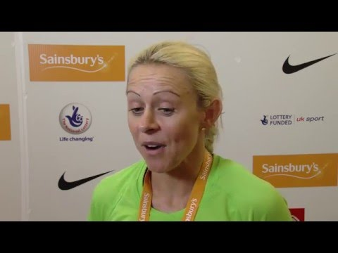 Jenny Meadows in 'shape of her life' after British Championships win