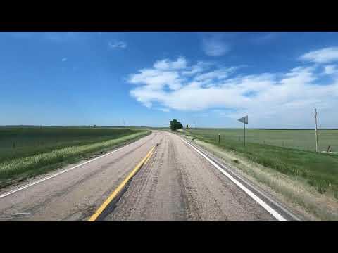 4K Driving Part 1 from Crawford, Nebraska to Hot Springs, South Dakota