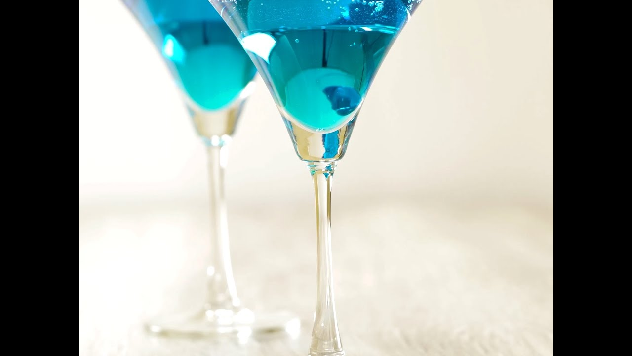 Blue Shoe Mocktail