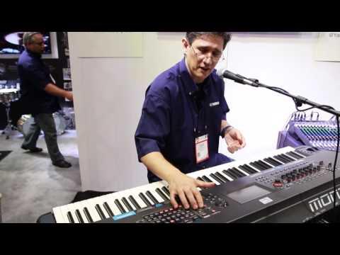 SUMMER NAMM 2016 - Yamaha Montage Workstation Keyboard | GEAR GODS
