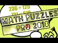 MATH PUZZLES PRO 2018 by B2A Apps   Free Mobile Game   Android / Ios Gameplay HD Youtube YT Video
