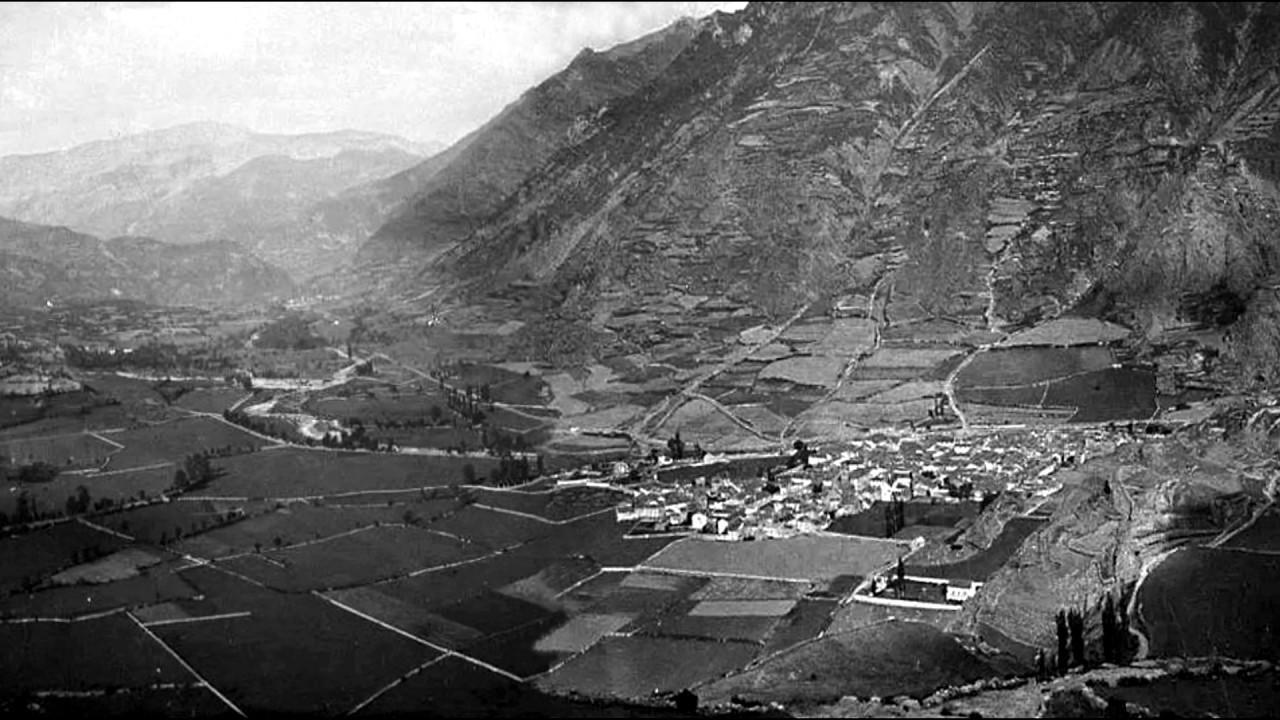 1906 Posiblemente sea la panorámica mas antigua y completa de Benasque y su  Valle.. - YouTube