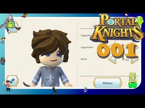 CHARAKTER ERSTELLEN BEI ▶ #01 Portal Knights Android ▶ 5,49 € im PlayStore ▶ Local Multiplayer ▶