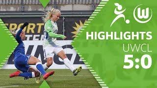 VfL Wolfsburg - Slavia Prag | Highlights | UEFA Women's Champions League Viertelfinale