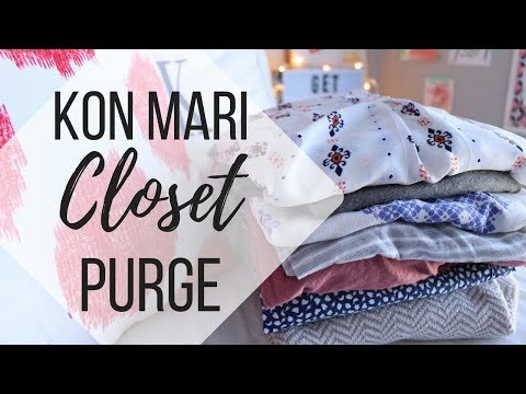 CLEANING OUT MY CLOSET | Closet Purge + Organization Tips