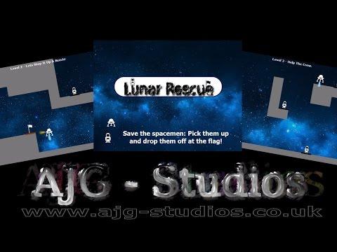 Lunar Rescue Game |