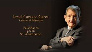 Hoy 2 de enero, el historiador Israel Cavazos cumple 91 años.