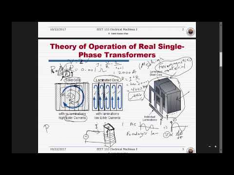 L5- Electric Transformer and equivalent circuit
