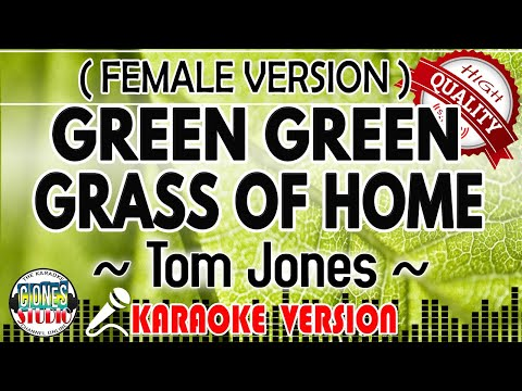 Green Green Grass Of Home - Tom Jones | Karaoke Version | Videoke | Minus One | Cover