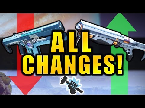 Destiny 2: ALL CHANGES in March Update! | Exotic Buffs, Clas