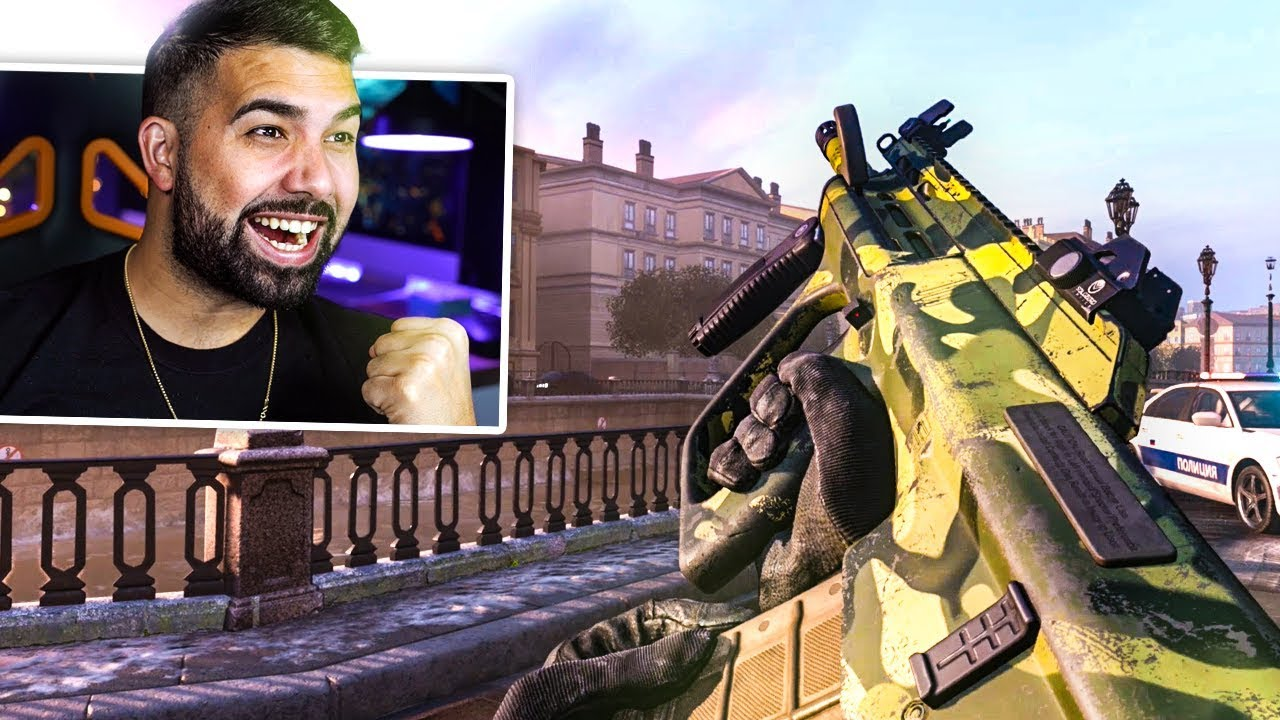MY FIRST GAME in Call of Duty Modern Warfare thumbnail